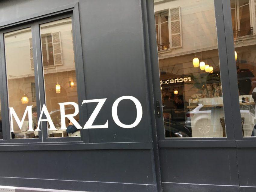 Marzo c'est aussi où manger les meilleurs pizzas de Paris avec Alfredo le Chef
