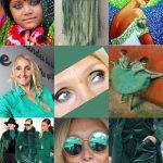 Le vert le Green l'écolo la mode voyons la vie en vert