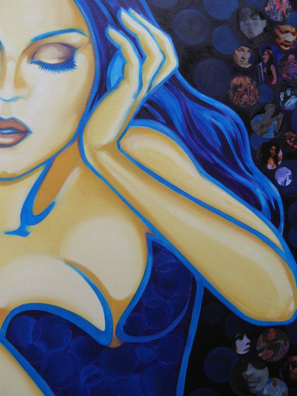 Peintre figuratif Valérie Ours