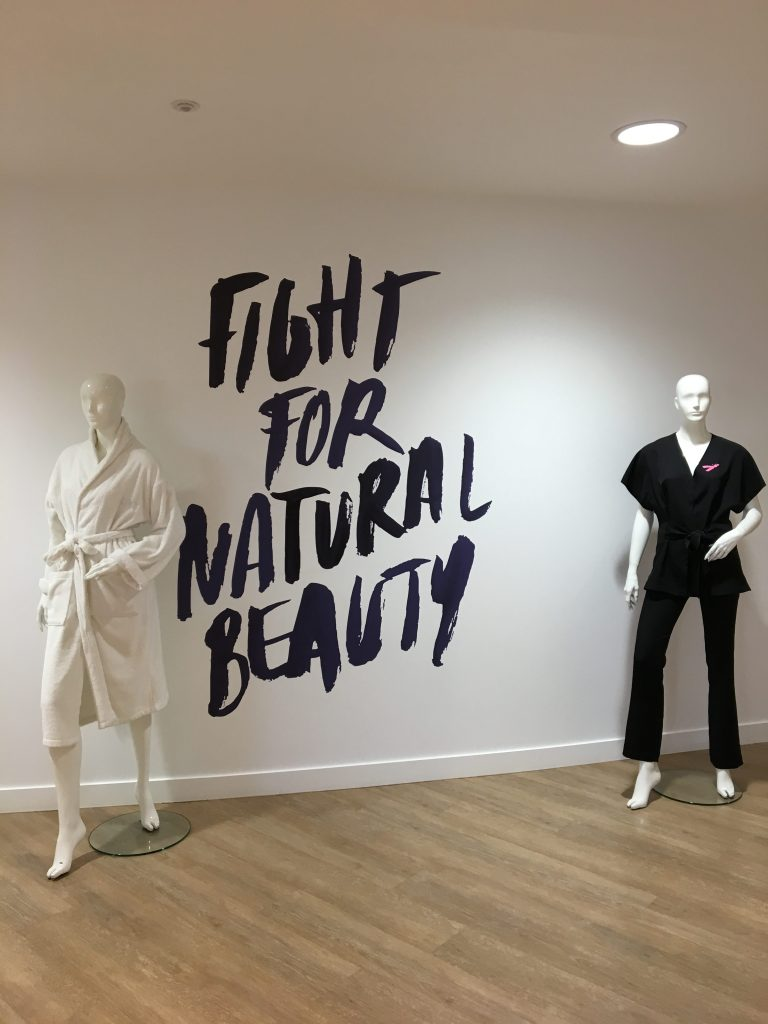 LPG endermologie et son slogan Fight for natural beauty, j'adore