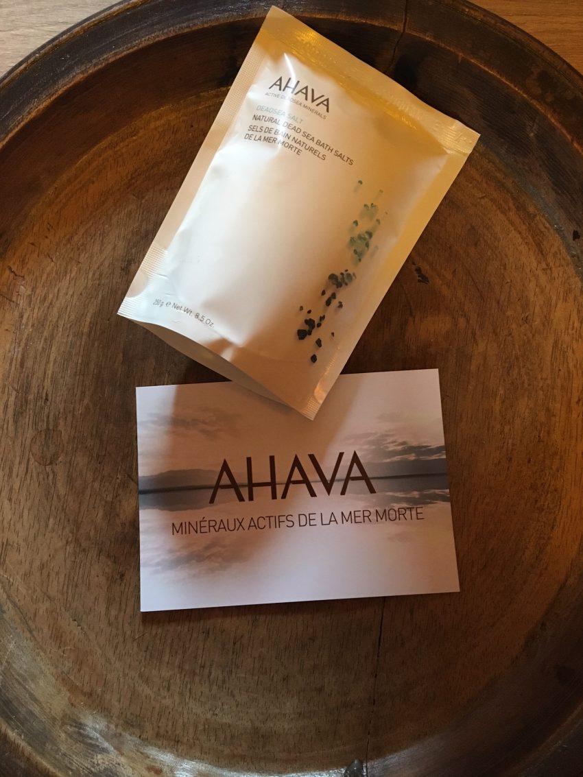 Des sels de l'huile des crèmes pour notre plus grand plaisir merci Ahava