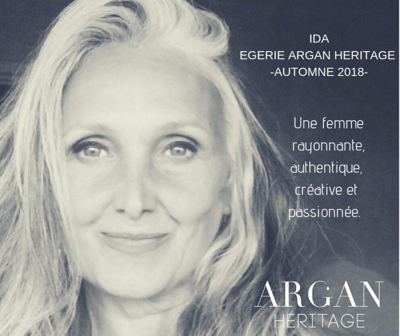 Argan héritage me choisit comme Egérie Automne 2018
