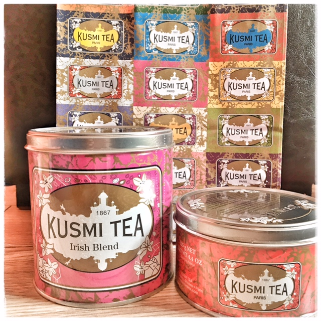 Tea for two or two for tea avec Kusmi tea