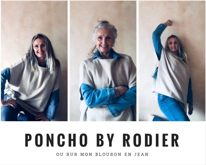 le poncho l'indispensable de notre garde robe