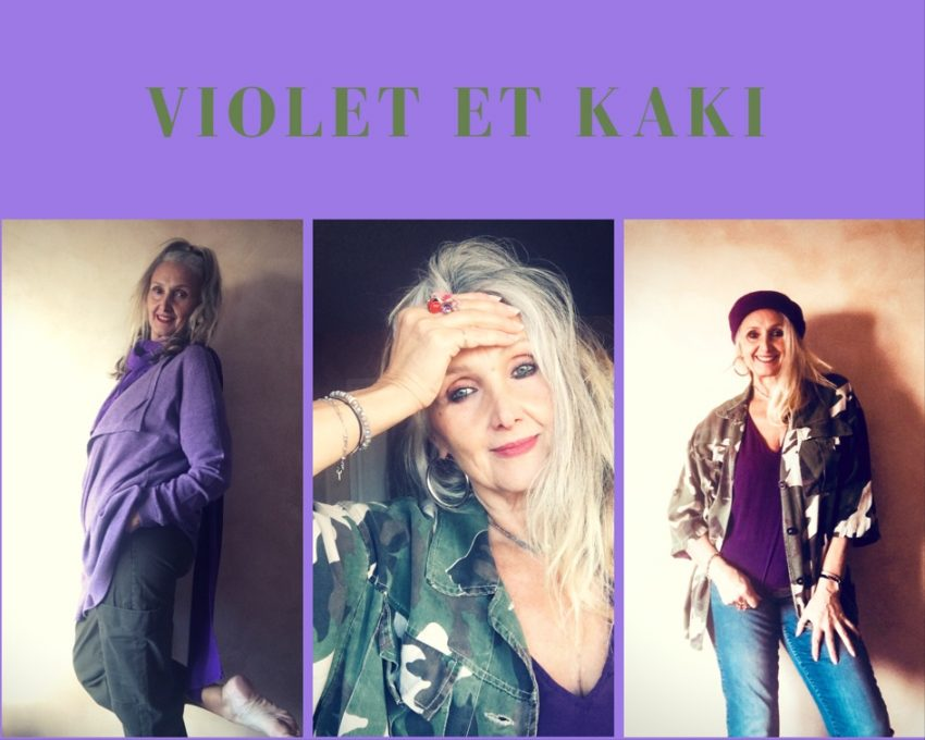 Le violet une couleur apaisante et facile à porter