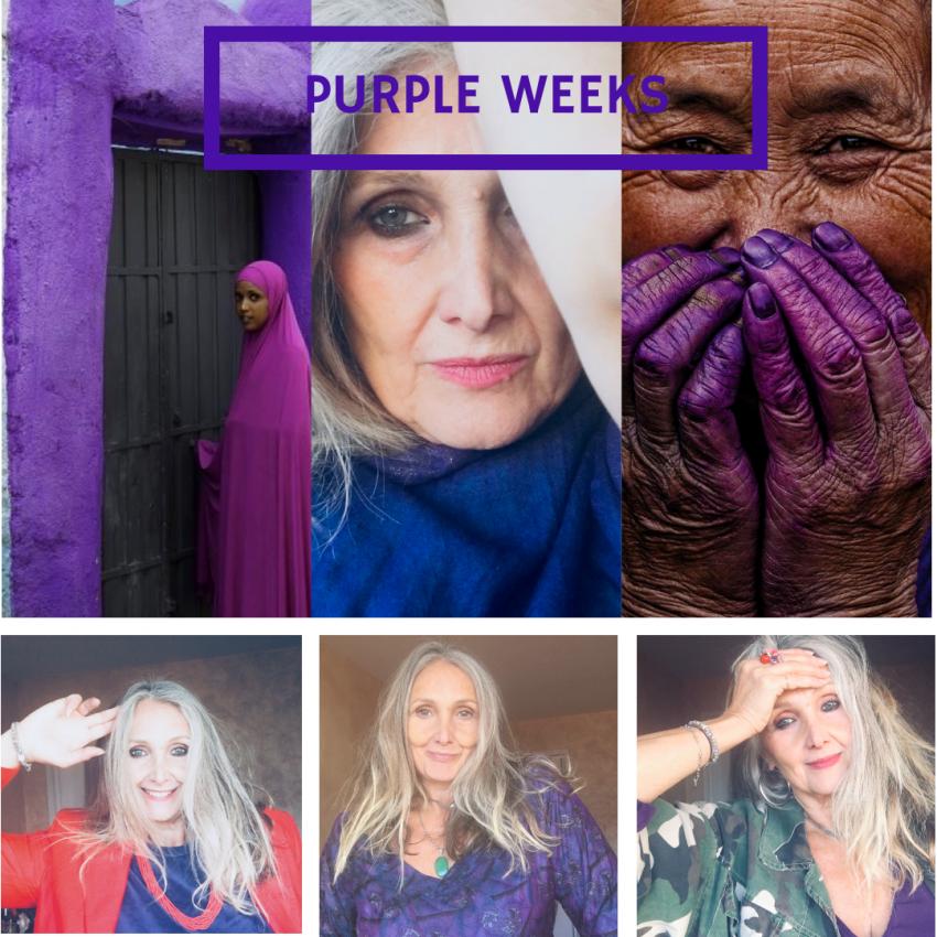 Keep calm and wear Purple color!