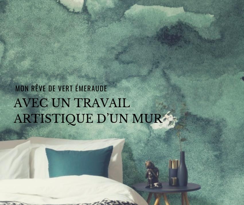 Et Si Je Me Creais Un Petit Cocon Vert Emeraude Dans Ma