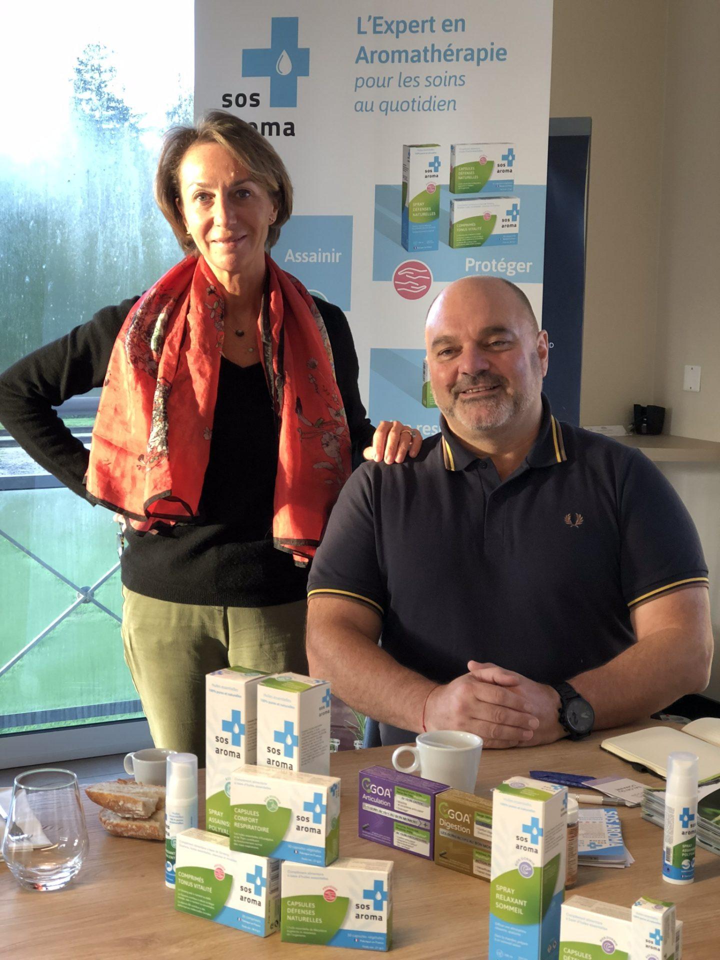 SOS AROMA et leurs huiles essentielles
